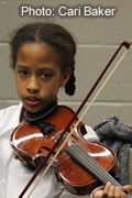 Youth Strings cellist