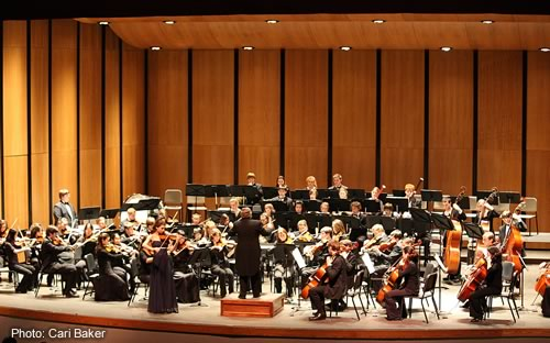 Youth Symphony in performance